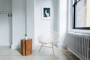 Design draadstoel