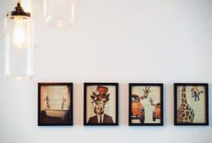 Foto's als muurdecoratie