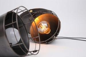 Industriële hanglampen metaal