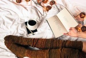 Koffie op bed