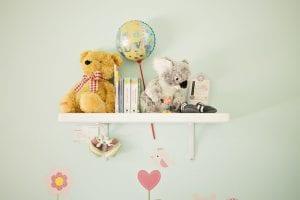 Muurdecoratie voor de kinderkamer