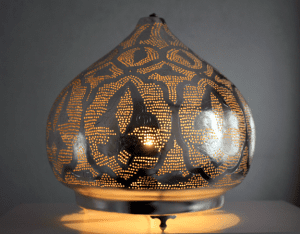 Oosterse staande lamp