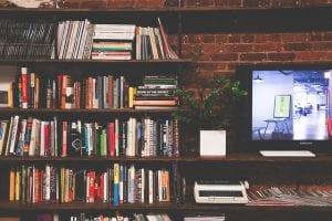 Open opbergkast als tv meubel